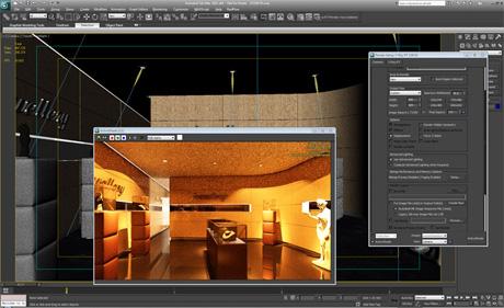 Сцена визуализирована только с помощью видеокарты в V-Ray 2
