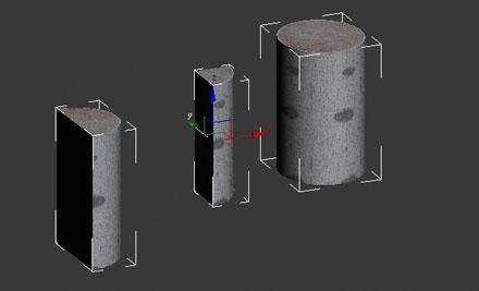 Три уникальных 3d-пенька/дрова