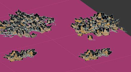 Создание 3d-куч листвы в 3ds Max
