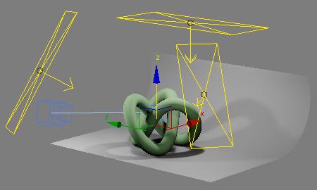 Простая виртуальная студия для 3ds Max и VRay