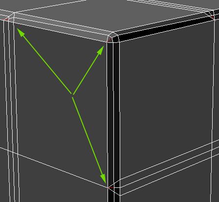 Удаление лишних треугольных полигонов