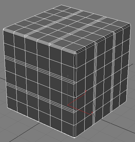 Увеличиваем количество полигонов Tessellate