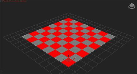Выделяем полигоны в шахматном порядке