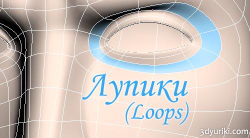 Лупики Loops словарь 3d-терминов, терминология моделирования