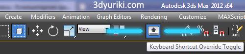 Keyboard Shortcut Override Toggle кнопка для управления горячими клавишами
