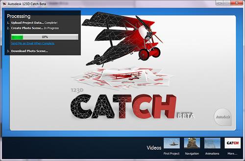 123D Catch - это бывшый Photo Scene Editor (Project Photfly)