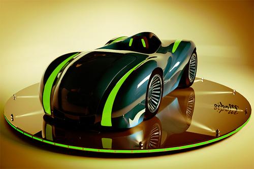 3D концепт автомобиля для первого заказ на бирже тридешников