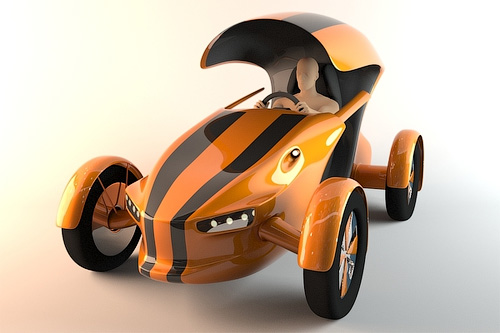 3D концепт спорт кара багги