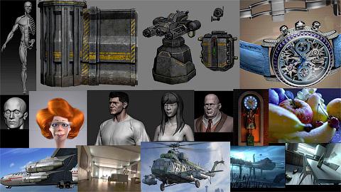 3D работы adasd