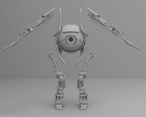 3D модель Атласа