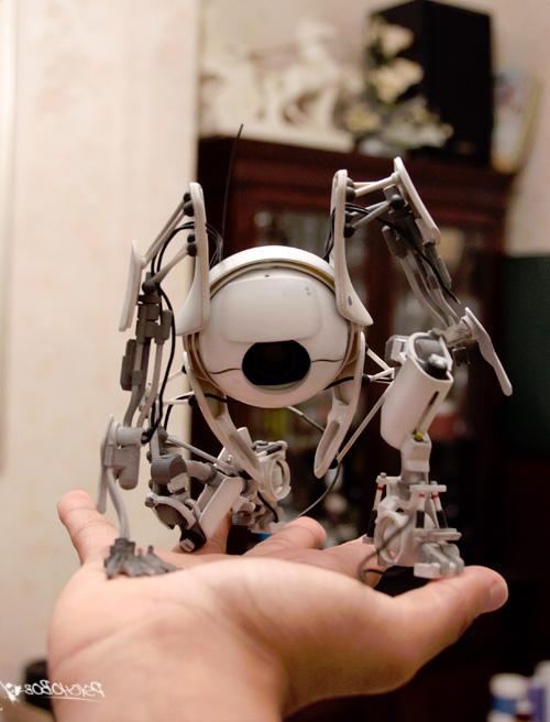 Напечатання на 3D принтере игрушка робот на руке