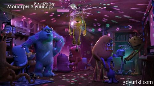 Грядёт корпорация монстров 2 от pixar