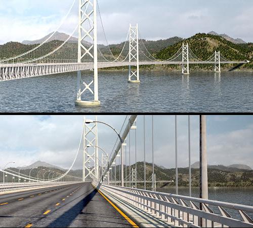Мост VRay + RailClone