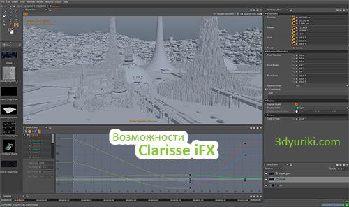 Возможности композера Clarisse iFX