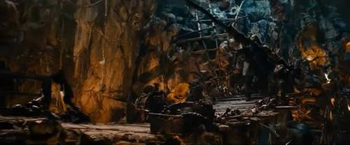 Подземелье гоблинов из фильма Хоббит
