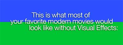 Вот так выглядели бы все фильмы без VFX-специалистов