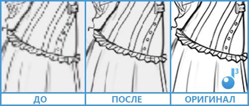 До, после и оригинал качества текстуры в Nitrous