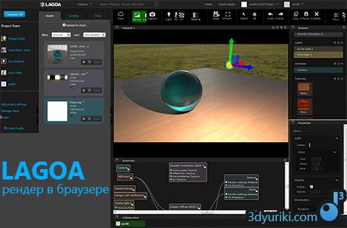 LAGOA - рендер в браузере работающий в облаке