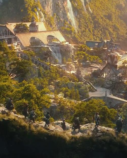 3D двойники всех главных персонажей фильма Хоббит, финальный кадр