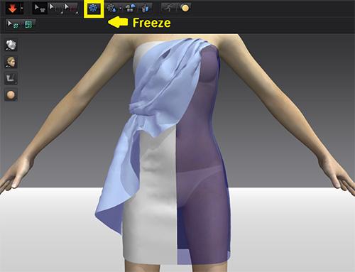 Быстрая симуляция в MD3 при использовании Freeze и Deactivate