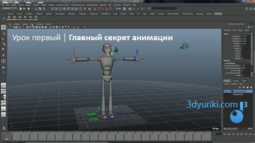 Главный секрет 3D анимации