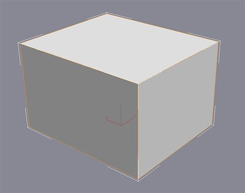 Куб до сглаживания
