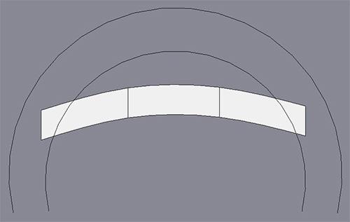 Рисуем сплайны для корректировки формы