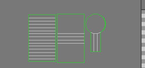 Соединили боковые рёбра UV цилиндра
