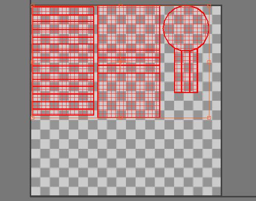 Перемещаем все части UV в квадрат 1,1