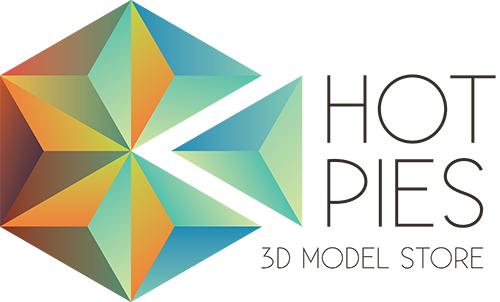 Hot Pies - новый магазин для продажи 3D моделей