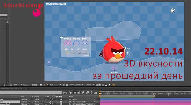 Риг 2D персонажа в After Effects