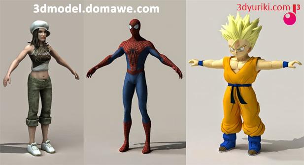 Сайт с бесплатными 3D моделями