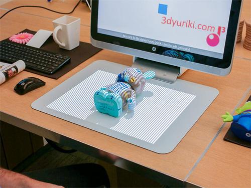 HP Sprout 3D сканнер, мультитач и экран в одном устройстве