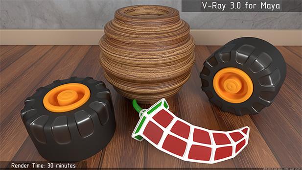 Что нового в V-Ray 3 для Maya