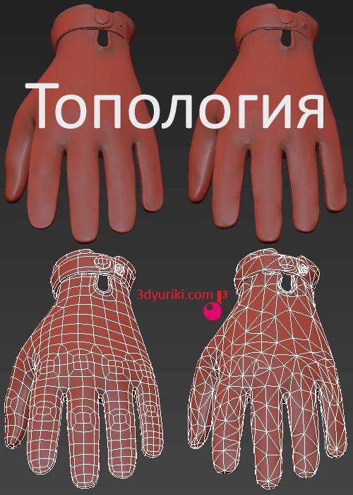 Что такое 3D топология