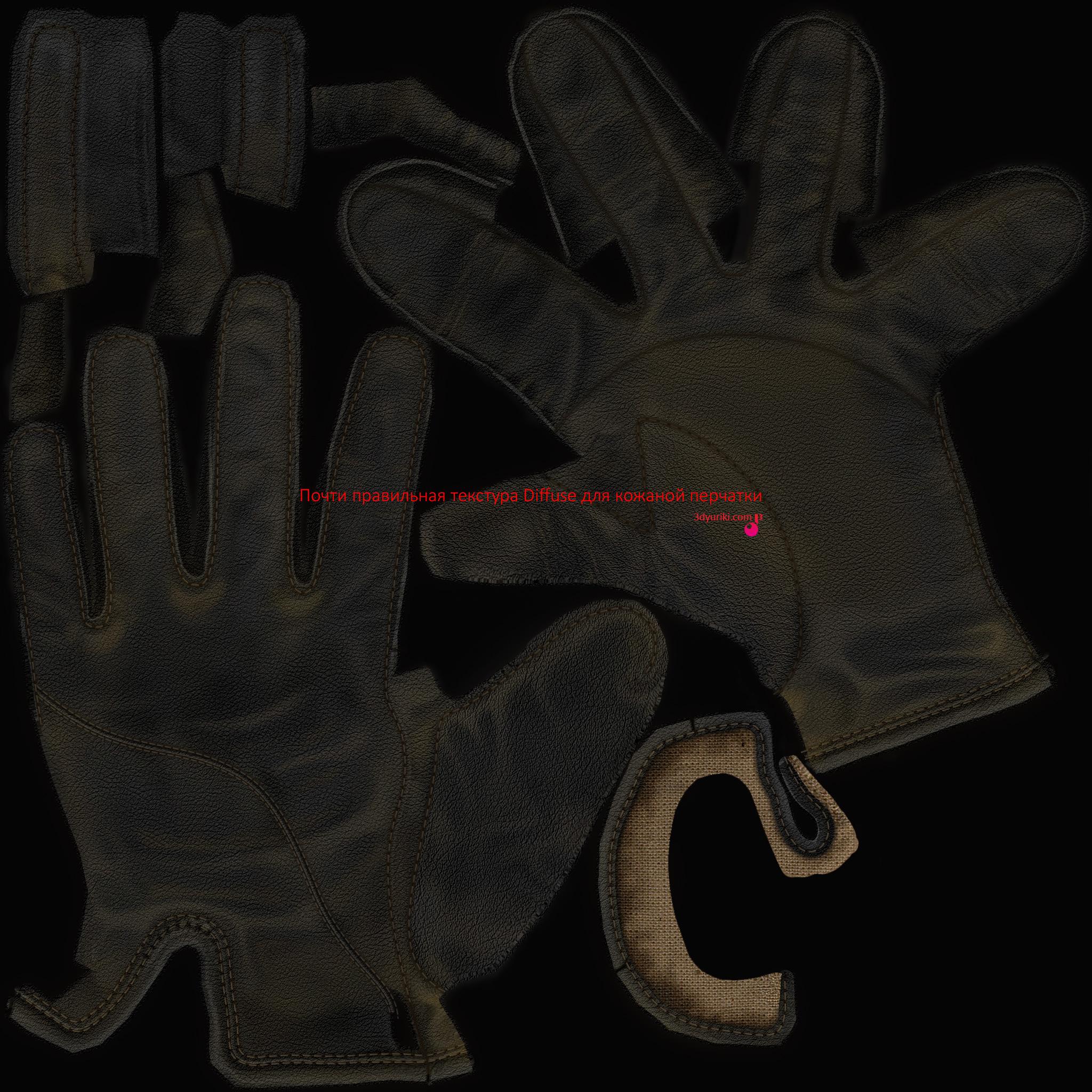текстура перчаток:
