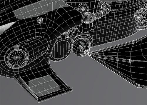 Неправильная 3D модель под сглаживание