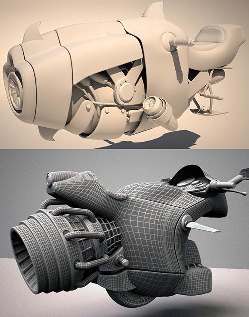 Референс нужного качества 3D модели