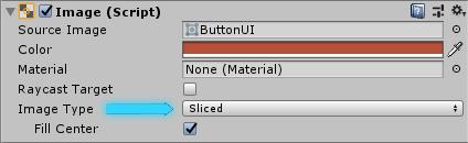 Image type Sliced в Unity
