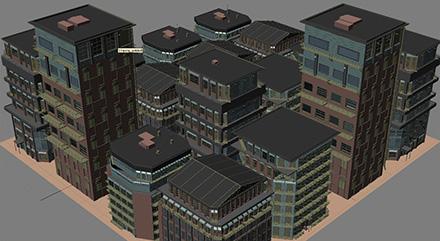 Создание 3d-домов на произвольной поверхности