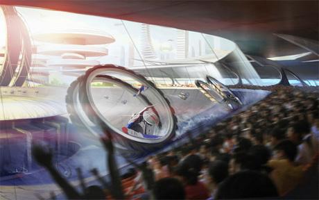 Гонки будущего - ускорение
