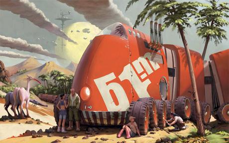 Внеземной красный большой перевозчик