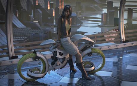Мотоцикл будущего для всех и на каждый день