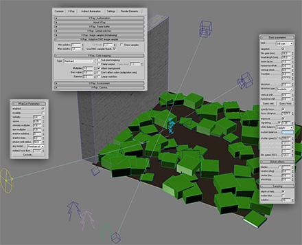Настройки VRay для реалистичной визуализации травы